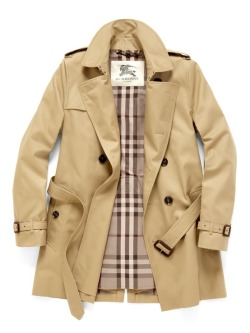 prideandprep:  Classic Burberry Trench  Awesome coat