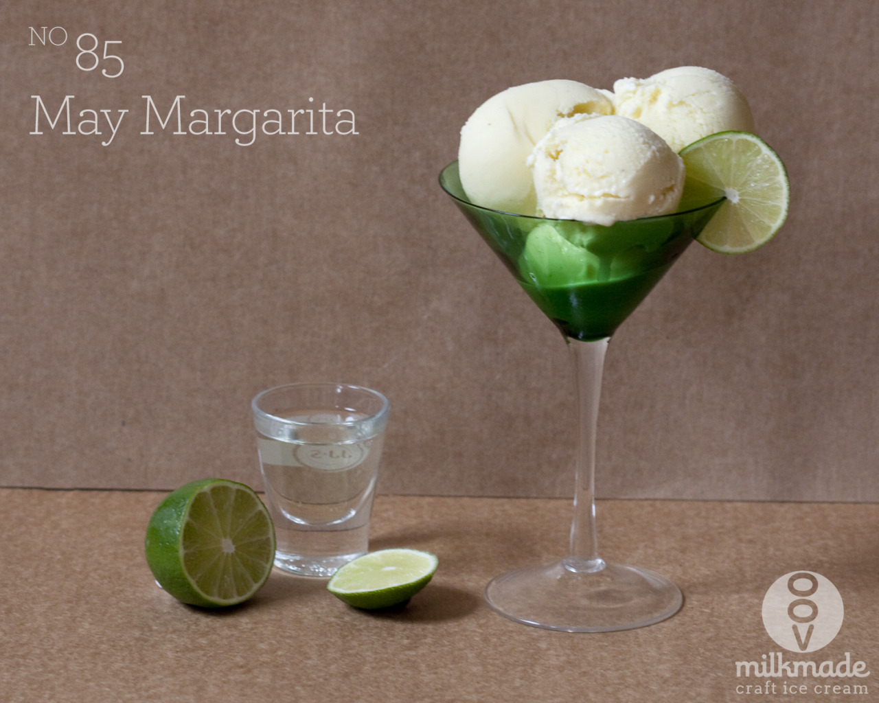 The making of flavor #85, Margarita Ready for the weekend? Ready for Cinco de Mayo? Ready to sip down a refreshing margarita on a warm(ish) early evening?  Ready to juice hundreds of limes and hand-craft pint after pint of Margarita ice cream? Oh.. no? Well luckily we are. Happy weekend everyone. Stay tuned for our step by step on our first flavor of the month - May Margarita.