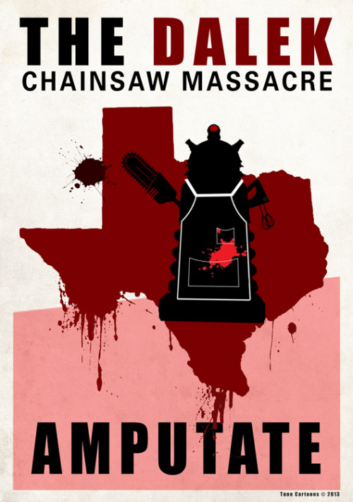 (via Day 312: The Dalek Chainsaw Massacre)