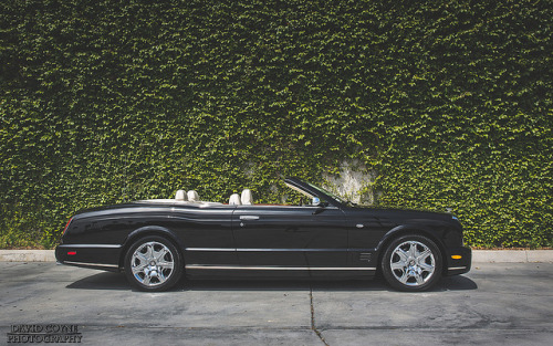theautobible:  Bentley Azure Profile by David Coyne Photography on Flickr. TheAutoBible.Com
