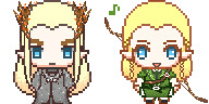 m-u-m-i:  Thranduil and Legolas icon (`・ω・´)  I got the format from icongenerators and edited in SAI.