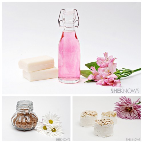 diychristmascrafts:  DIY Cheap and Easy Spa Recipes from She Knows here. On all my blogs I generally post recipes that do not require special order ingredients. These recipes are so easy kids could help make them - labeling them for the holidays. For roundups of gifts kids can make go here: truebluemeandyou.tumblr.com/tagged/best-kids-crafts-tutorials For more easy bath & beauty DIYs go here: diychristmascrafts.tumblr.com/tagged/beauty Homemade Pink Bubble Bath Brown Sugar Scrub Oatmeal Bath Bombs  rainbowsandunicornscrafts: in the original post these were labeled as gifts easy enough for kids to help make.
