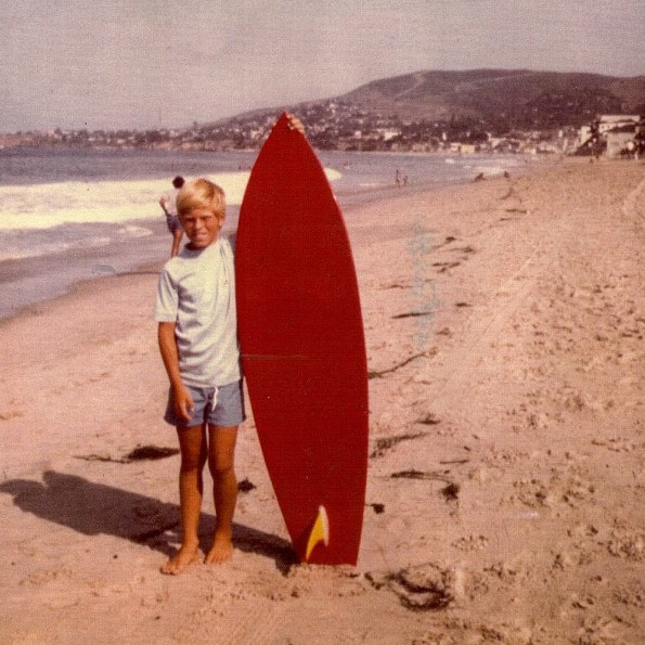 Grom on Laguna Beach back in the days ☯