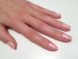 Summer wedding nails using 'Nebline' and 'Sugar Crystals' in the ColorShow range by Maybelline New York.  Check out the how-to http://youtu.be/jWZE-0lu7xI