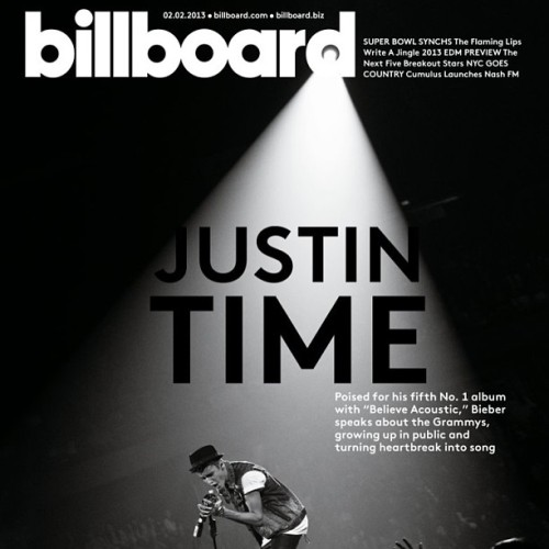 Attention Beliebers… Justin Bieber is on our cover (again) ! Buy the issue here.  (via Instagram)