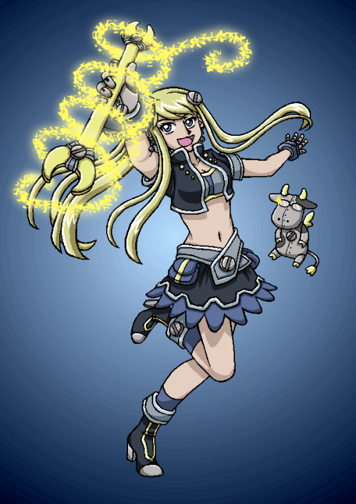 "I WAS LIKE ""WHY IS THERE NO MAGICAL GIRL WINRY"" and then like magic she appeared to me THE WORLD IS WONDERFUL THANK YOU"