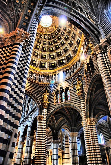 meinnim:  Siena Cathedral Interior by andreisky