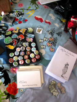 This is everything I have left to sell at my last spring con tomorrow in Edinburgh, as last week's Doj-Con up in Dundee pretty much wiped me out!I'm working on some more cross stitch key rings this afternoon too though.The Stitch Kitsch facebook face!