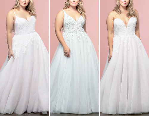 Hayley Paige'Size Inclusive' 2020 Bridal Couture Collection #Fashion#FashionEdit#Hayley Paige#Couture Edit#Bridal Couture#Bridal Collection#Plus Size#My Edit