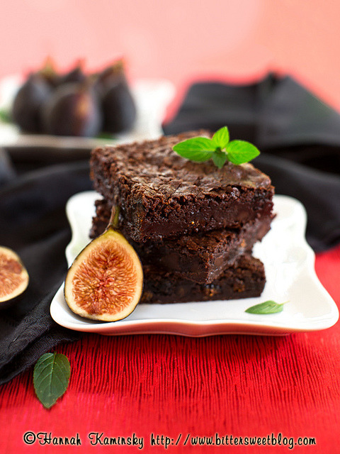 Fig-Mint Brownies