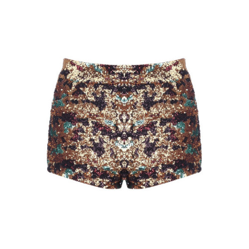 Shorts   ❤ liked on Polyvore (see more sequin shorts)