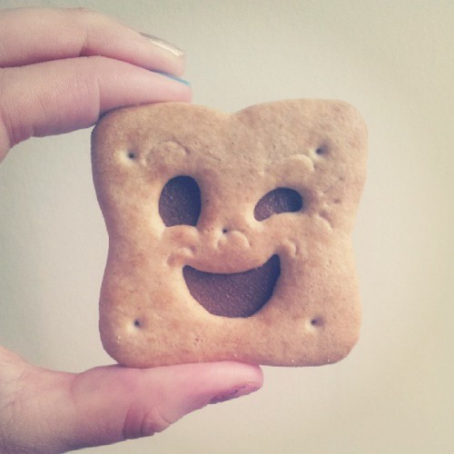 mollovesphotography:  OMG BN BISCUTS!! #childhood #bn #bnbiscuts #sonice #chocolate #cheeky #love #food #bestbiscuts #best #cheekywink #biscutface #wink #cute #yummy