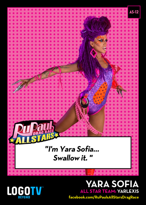 TRADING CARD THURSDAY AS-12: Yara Sofia!
