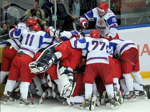Russia took bronze on home ice in Ufa