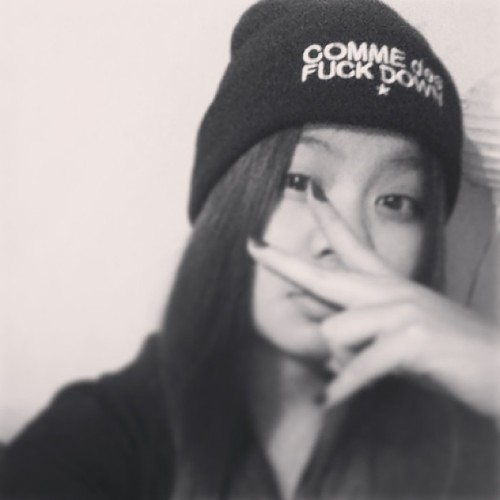 COMME DES PUCKDOWN 🌟#gangsta #swug #bored #igers #sydney #mental #commedesfuckdown