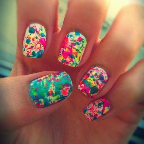 nails cool nails pretty nails colorful nails art