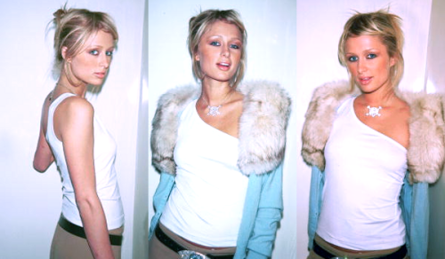 paris hilton photographed in 2001
