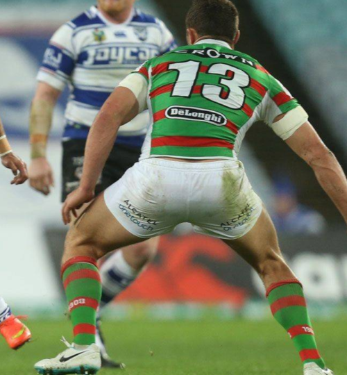 roscoe66:  Sam Burgess and George Burgess of the South Sydney Rabbitohs  Gonna miss you Slammin' Sammy.