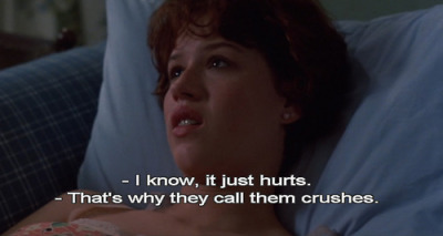 lesoustitre:  - Pretty in Pink ( Howard Deutch, 1986 )