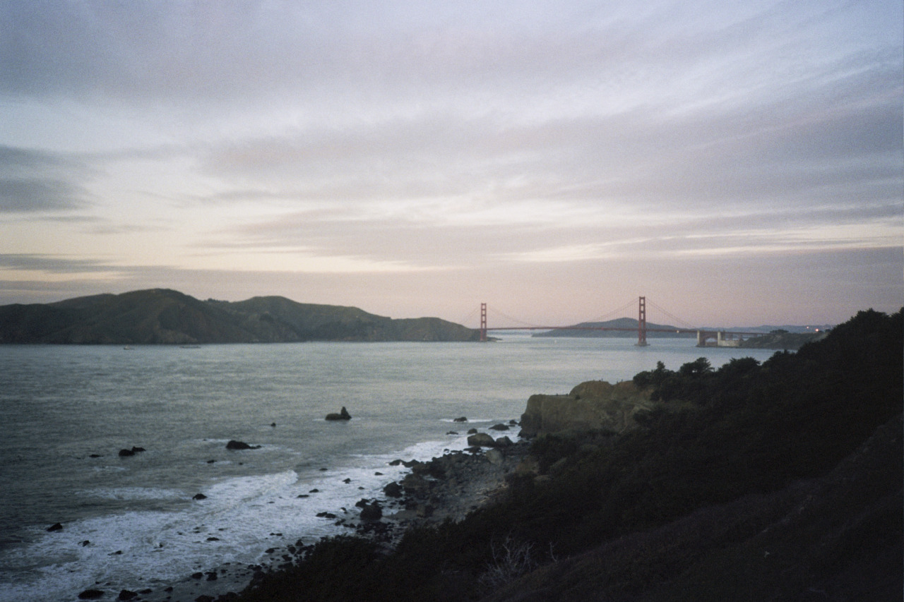 Golden Gate Bridge - January 2013