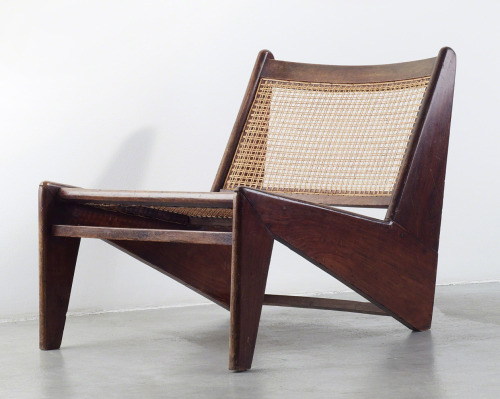 "ianborthwick:  c. 1960 ""Kangourou"" Lounge Chair 
