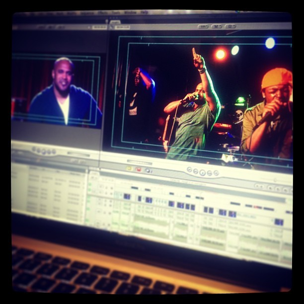 #Editing all day <3 looking really good! #GinolockJohnsonIglehart #IvoryJean #Dallas #FerralogRecording @ivoryjeanband