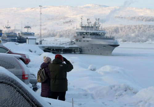 vpoiskah:  Kirkenes winter.