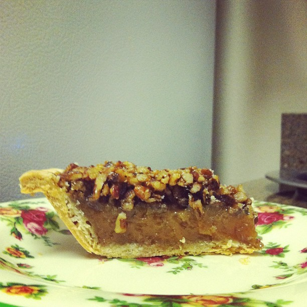 Thanks @goldbely and pioneer pies for the amazing pecan pie! Happy Easter :)