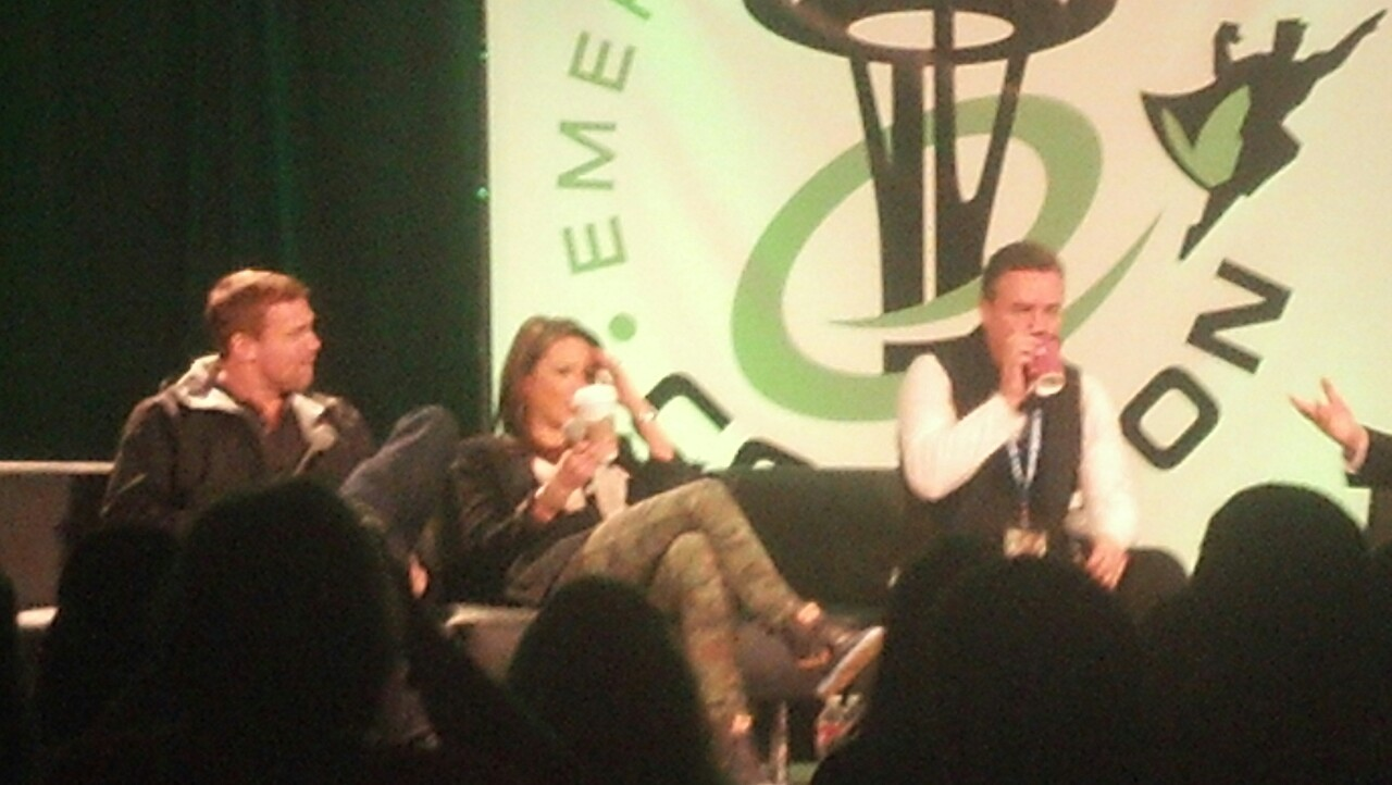 deanwfan12:  Stargate panel at emerald city comic con