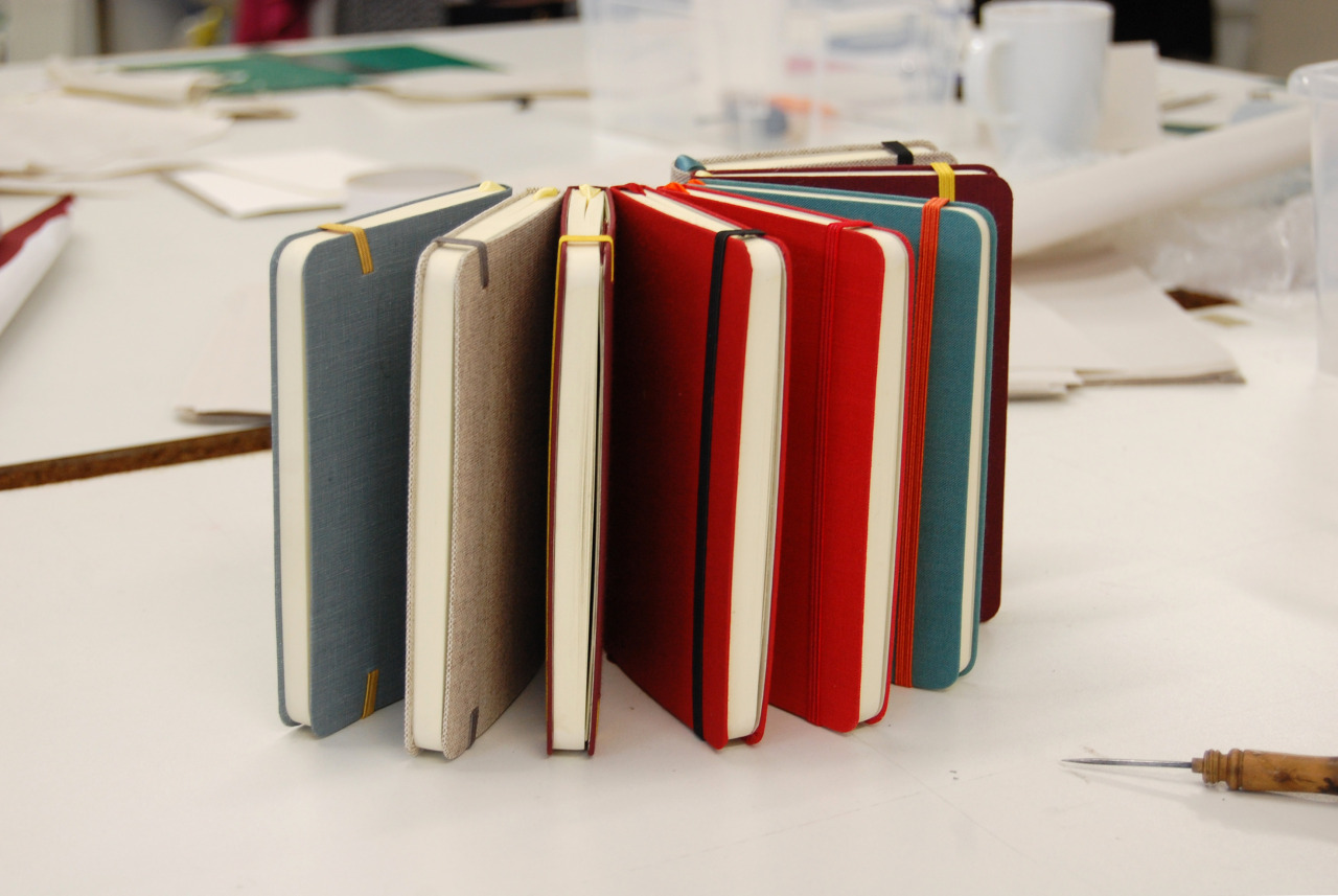 Notebooks participants made during our Travel Notebook workshop this past Saturday. We added another Travel Notebook Workshop on Friday 22 March. For bookings please visit our Eventbrite page.
