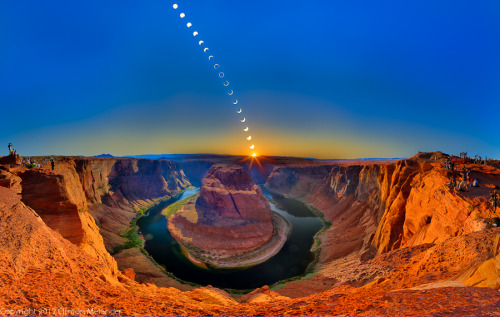 cedorsey:  Ring Of Fire - Horseshoe BendPhoto Credit: (Clinton Melander)