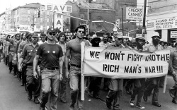 fuckyeahanarchistbanners:  We Won't Fight Another Rich Man's War !!!