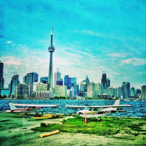 As my flight is delayed I sit and admire the city that I call home #toronto! #ilovetdot #torontolove #cntower #skyline #travel #hdr #iphoneonly #iphoneography #ignation #instagood #instatoronto #igtoronto #igers #tdot  (at Billy Bishop Toronto City Airport (YTZ))