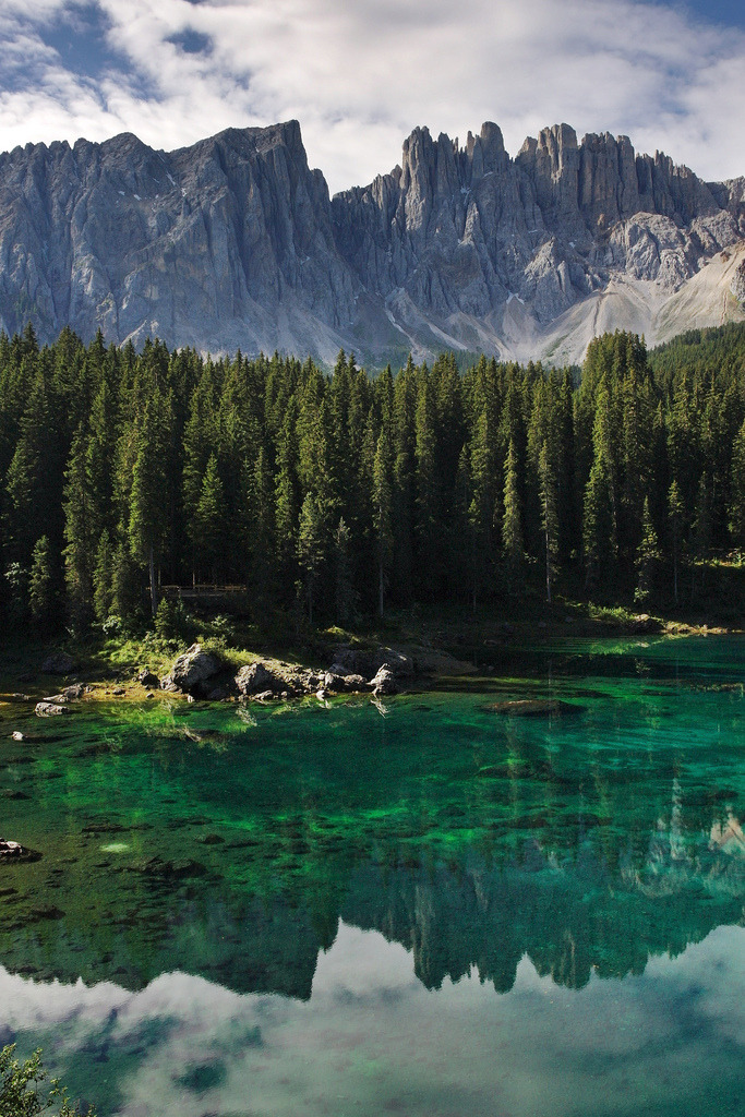 exhumations:  Lago di carezza (by Vogelbetrachter)