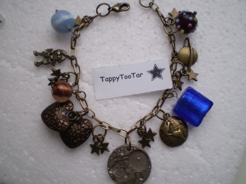 Doctor Who Charm Bracelet Available on Etsy(click picture)