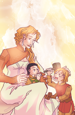 Frigga, Thor, Loki | Happy Mother's Day