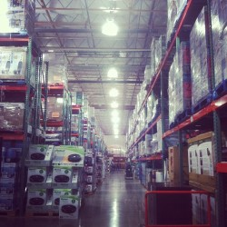 Costco #chickenwrap (at Costco)