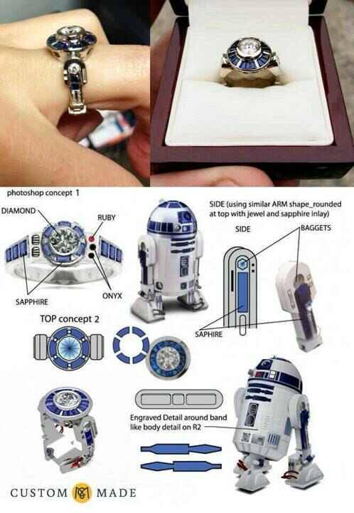 Want! R2D2 is the coolest robot ever… Even to those that aren't Star Wars fans!