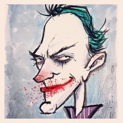 http://gsss.bigcartel.com/  pmpinto:  The #joker #markers #sketch #whysoserious #dc #greenhairedfreak #watercolor #brushpen #grapesodastudio #orlando #florida