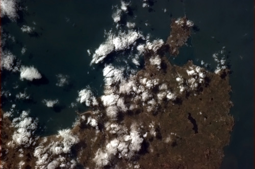 Happy St. David's Day! The Sun shines on Holyhead, northern Wales on the first of March.