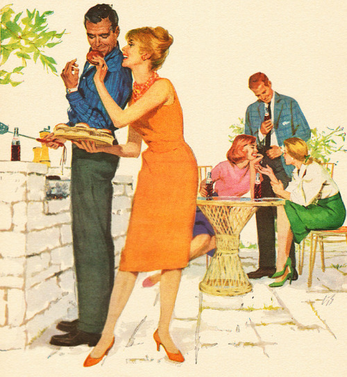 rogerwilkerson:  The Sociables Prefer Pepsi - 1960