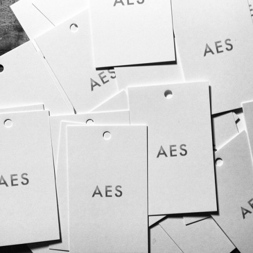 Hang tags finally in. F/W13 gonna be looking so ill.. #aesthetic #aes #menswear #fall #winter #sf #ny #noir #killa #designershit #hustle #prosper