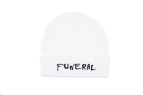 Funeral Beanies now available at www.briuhomme.com/store