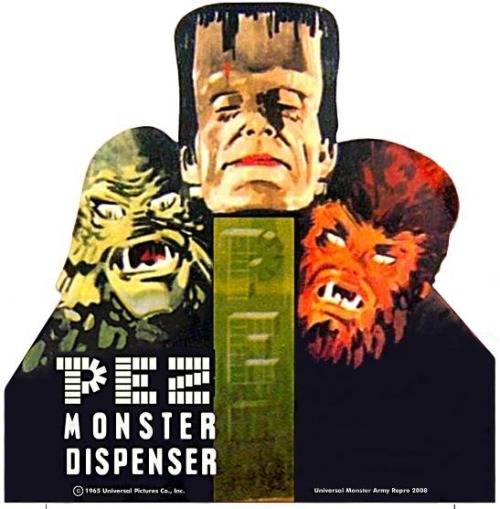 collectemall:  Monster Pez! Life's finer things!