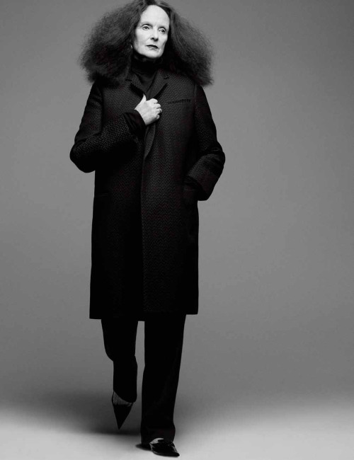 Grace Coddington by Craig McDeanfor Interview Magazine