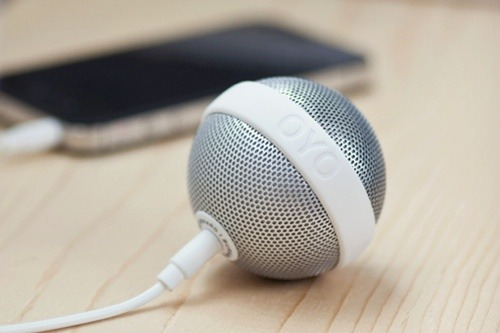 theminimalisto:  OYO Ballo Speaker, you can buy it here.