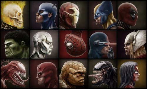 1los:  Marvel art