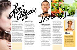 Editorial Layout for the March Issue of Alive Magazine.