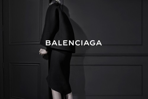 "billidollarbaby:  Alexander Wang's first campaign for Balenciaga Fall/Winter 2013 For his first advertising campaign as Balenciaga's creative director, Alexander Wang went for a ""very cinematic portrayal"" of his debut collection, paraded in Paris last February. ""With lots of emotion,"" he added, ""in contrast to the austerity bestowed in the show."" Model: Kristen McMenamy Photographer: Steven Klein"