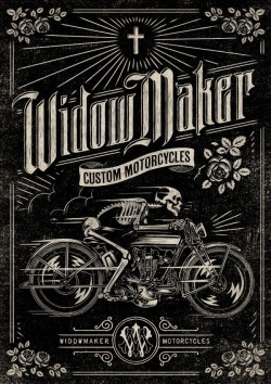 serialthrill:  Widow Maker Custom Motorcycles